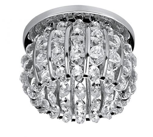 Встраиваемый светильник Lightstar Monile 030704 lightstar встраиваемый светильник lightstar monile sfe cr 030704