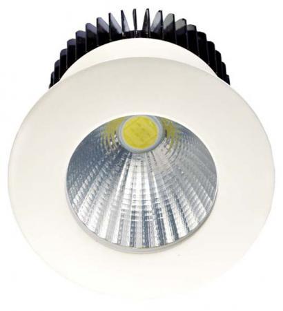 Встраиваемый светодиодный светильник Donolux DL18572/01WW-White R Dim встраиваемый светодиодный светильник donolux dl18572 01ww white sq dim
