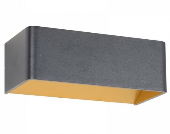 Настенный светодиодный светильник Donolux DL18417/11WW-Black/Gold Dim