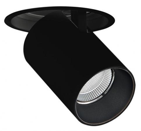 Встраиваемый светодиодный светильник Donolux DL18621/01R Black Dim rosenberg 7936 g