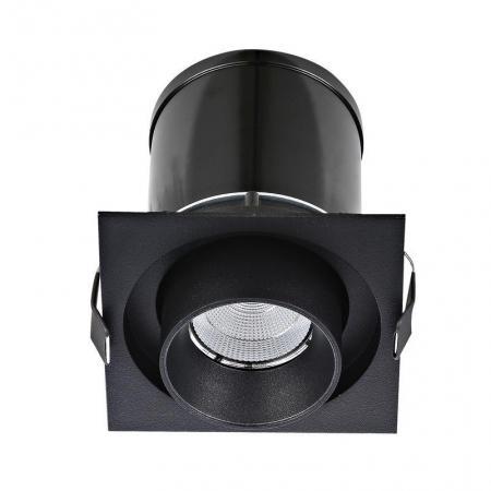 Встраиваемый светодиодный светильник Donolux DL18621/01SQ Black Dim digital stc 1000 220v all purpose temperature controller thermostat with sensor