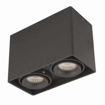 Потолочный светильник Donolux DL18611/02WW-SQ Shiny black el7457clz 40 мгц 16qfn el7457cl 7457 el7457 7457c el745 7457cl