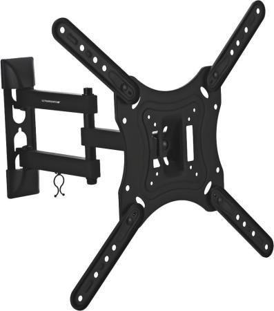 Кронштейн Ultramounts UM870 черный 23-55 настенный от стены 88-398мм VESA 400x400 до 30кг