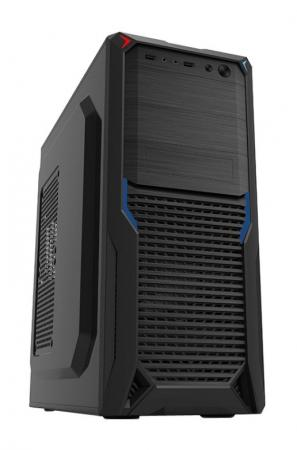 Корпус ATX PowerCool S2012BK 500 Вт чёрный цена