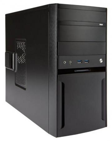 Корпус microATX InWin EFS059BL U3 500 Вт чёрный 6120654 цена и фото