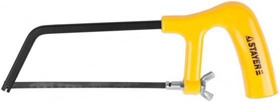 Ножовка-мини Stayer Junior по металлу пластмассовая ручка 150мм 1561_z01 ножовка по металлу stayer master 1577 z01