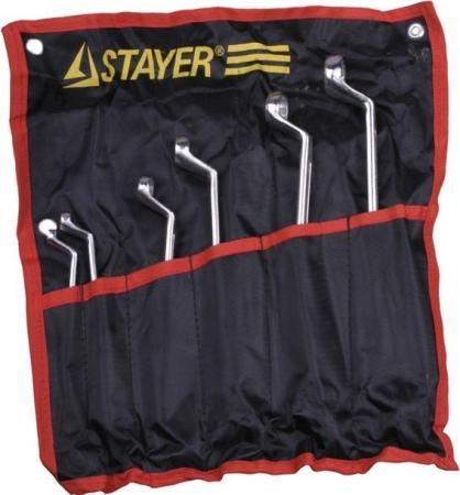Набор ключей Stayer Мастер 6шт 27151-H6 набор инструментов stayer profi ultra 6шт 2202 h6
