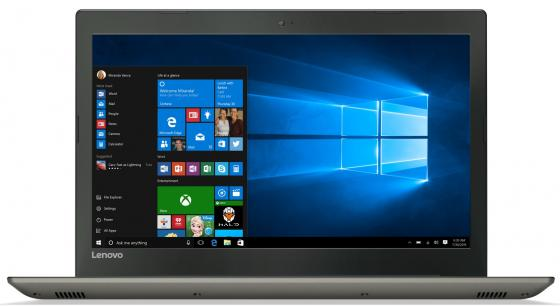 "Ноутбук Lenovo IdeaPad 520-15IKB 15.6"" 1920x1080 Intel Core i3-7100U 1 Tb 4Gb nVidia GeForce GT 940MX 2048 Мб черный серый Windows 10 Home 8YL00GWRK"