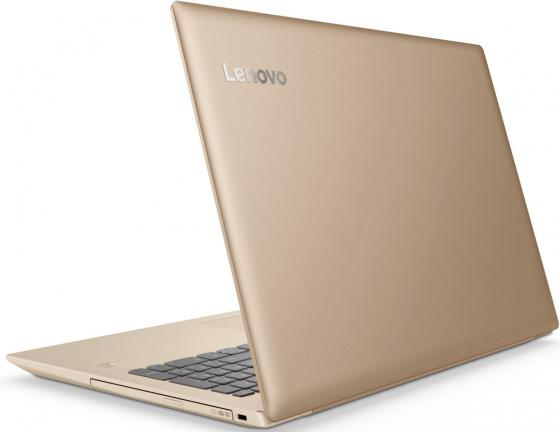 "Ноутбук Lenovo IdeaPad 520-15IKB 15.6"" 1920x1080 Intel Core i7-7500U 128 Gb 8Gb nVidia GeForce GT 940MX 2048 Мб бронзовый Windows 10 Home 80YL005SRK"