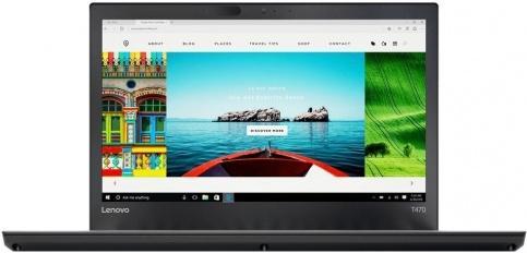 Ноутбук Lenovo ThinkPad T470 14 1920x1080 Intel Core i7-7500U 1 Tb 8Gb Intel HD Graphics 620 черный Windows 10 Professional 20HD005RRT ноутбук lenovo thinkpad t470 14&quot 1920x1080 intel core i7 7500u 20hd005qrt