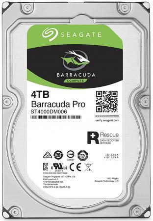 Жесткий диск 3.5 4Tb 7200rpm Seagate Barracuda Pro SATAIII ST4000DM006 жесткий диск 10tb seagate barracuda pro st10000dm0004