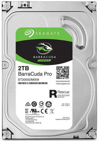 Жесткий диск 3.5 2Tb 7200rpm Seagate Barracuda Pro SATAIII ST2000DM009