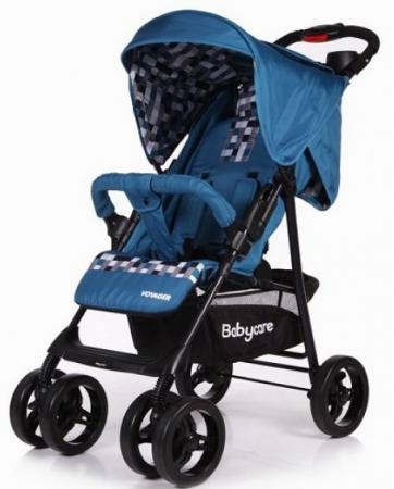 Прогулочная коляска Baby Care Voyager (blue 17) коляска baby care voyager violet