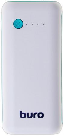 Портативное зарядное устройство Buro RC-5000WB 5000мАч белый/голубой