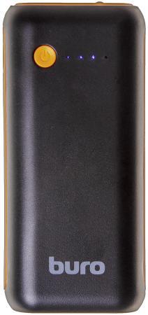 Портативное зарядное устройство Buro RC-5000BO 5000мАч черный/оранжевый внешние акк��муляторы wb портативное зарядное устройство