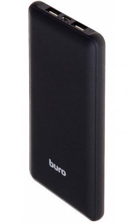 Портативное зарядное устройство Buro RA-10000SM 10000мАч черный buro ra 16000 3u lcd черный