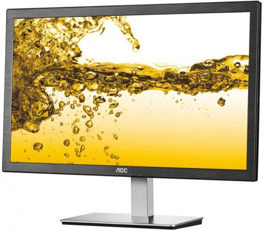 Монитор AOC I2476VXM(00/01) черный IPS 1920x1080 250 cd/m^2 5 ms HDMI VGA Аудио монитор 21 5 aoc i2269vwm
