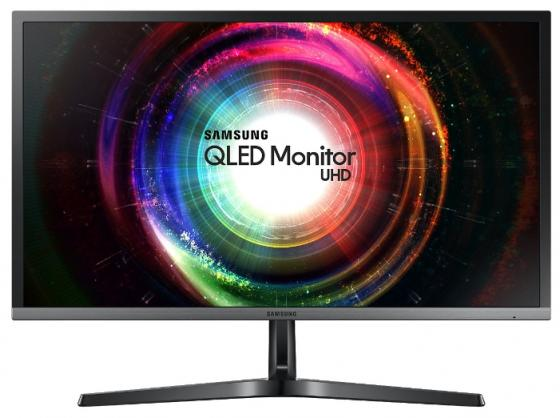 Монитор 28 Samsung U28H750UQI черный TN 3840x2160 300 cd/m^2 1 ms HDMI DisplayPort монитор lg 24ud58 b черный ips 3840x2160 250 cd m^2 5 ms g t g hdmi displayport