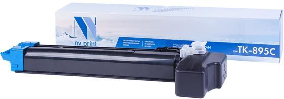 Фото - Картридж NV-Print TK-895C для Kyocera FS-C8020MFP | C8025MFP | C8520MFP | C8525MFP 6000стр Голубой kyocera tk 895c голубой