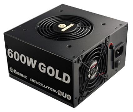 Фото - Блок питания ATX 600 Вт EnerMax Revolution Duo ERD600AWL-F блок питания 750w enermax platimax epm750awt ret