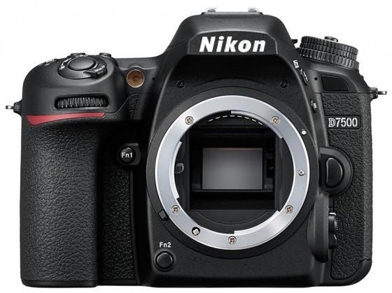 цена на Зеркальная фотокамера Nikon D7500 Body 20.9Mp черный VBA510AE