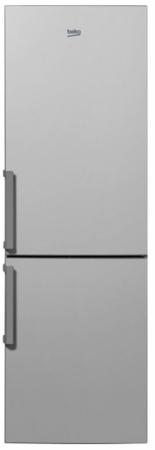 Холодильник Beko RCNK270K20S серебристый холодильник beko cs 331000