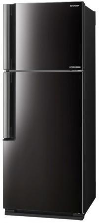 Холодильник Sharp SJ-XE35PMBK черный холодильник sharp sj b236zr wh белый