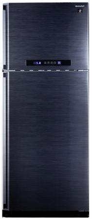 Холодильник Sharp SJ-PC58ABK черный холодильник sharp sj b236zr wh белый