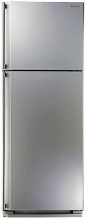 Холодильник Sharp SJ-58CSL серебристый холодильник sharp sj b233zr sl серебристый