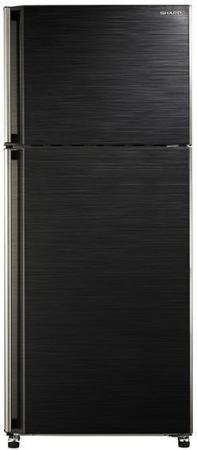 Холодильник Sharp SJ-58CBK черный холодильник sharp sj pc58ach серебристый