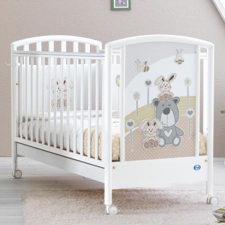 Кроватка Pali Joy (белый)