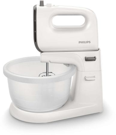 Миксер стационарный Philips HR3745/00 450 Вт белый серый цена и фото