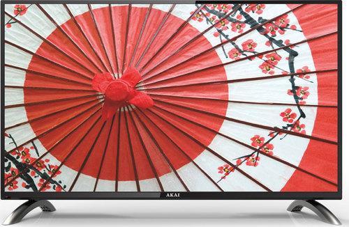 "Телевизор LED 32"" Akai LES-32X82WF черный 1366x768 — Wi-Fi Smart TV SCART VGA RJ-45"