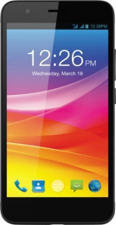 Смартфон Micromax Q465 черный 5 16 Гб LTE Wi-Fi GPS 3G смартфон micromax q334 canvas magnus черный 5 4 гб wi fi gps 3g