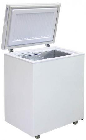 все цены на Морозильный ларь Бирюса 155VK белый онлайн