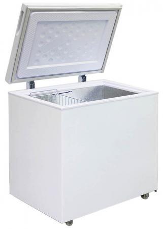 Морозильный ларь Бирюса 200VK белый морозильный ларь bravo xf 212ja
