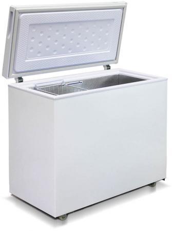 Морозильный ларь Бирюса 240VК белый морозильный ларь бирюса 200vz