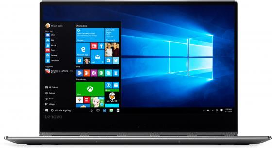 Ноутбук Lenovo Yoga 910-13IKB 13.9 1920x1080 Intel Core i5-7200U 256 Gb 8Gb Intel HD Graphics 620 серый Windows 10 Professional 80VF004MRK ноутбук lenovo thinkpad yoga 370 13 3 1920x1080 intel core i5 7200u ssd 256 8gb intel hd graphics 620 черный windows 10 professional