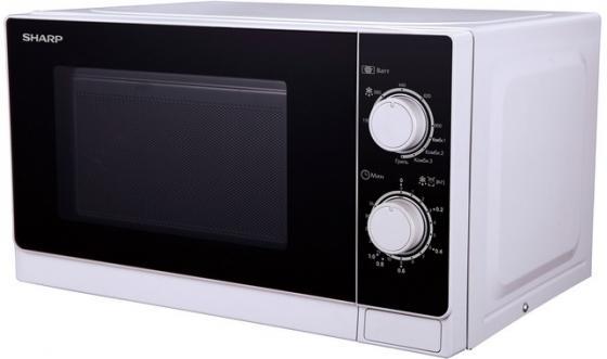 Микроволновая печь Sharp R-6000RW 800 Вт белый чёрный sharp r 2772rsl