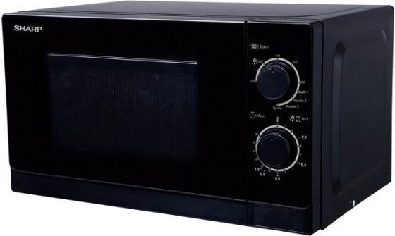 Микроволновая печь Sharp R-6000RK 800 Вт чёрный микроволновая печь sharp r 2000rw 800 вт белый черный