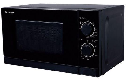 Микроволновая печь Sharp R-2000RK 800 Вт чёрный микроволновая печь sharp r 2000rw r 2000rw