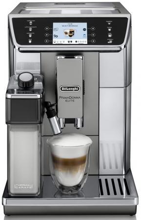 Кофемашина DeLonghi ECAM650.55.MS 1450 Вт серебристый delonghi nespresso pixie clips en 126 капсульная кофемашина