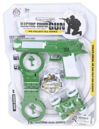 Набор оружия Shantou Gepai Военный 5 предметов пистолет shantou gepai desert eagle серый прицел гелевые пули usb зарядка 635448