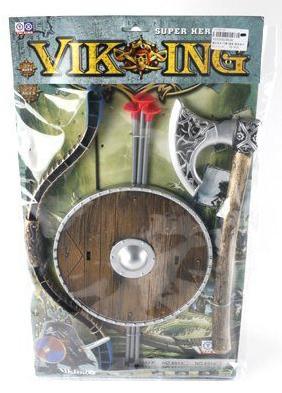 Игровой набор Shantou Gepai Оружие викинга 6 предметов топор викинга в подарок