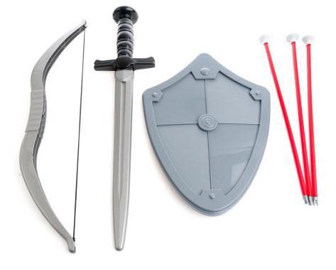 Набор оружия Пластмастер Отвага 50044 6 предметов набор оружия лук и стрелы 1719346