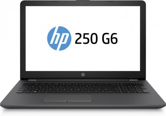 Ноутбук HP 250 G6 15.6 1366x768 Intel Pentium-N3710 500 Gb 4Gb Intel HD Graphics 405 черный DOS 1WY38EA ноутбук hp 15 bs509ur 15 6 1920x1080 intel pentium n3710 2fq64ea