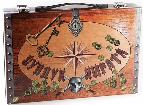где купить Набор пирата Fantastic Сундук пирата коричневый по лучшей цене