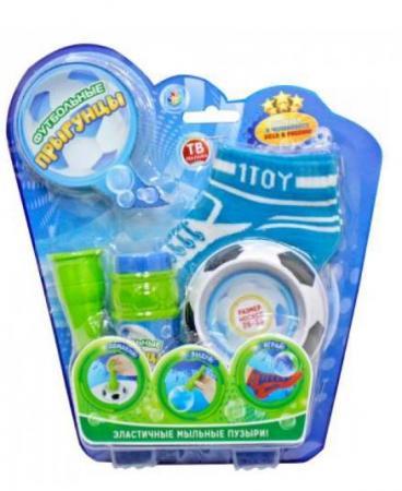 Мыльные пузыри 1Toy Футбольные Прыгунцы 80 мл размер носков 26-33 1toy мыльные пузыри футбольные прыгунцы 80 мл т59276