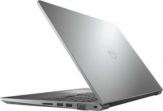 "Ноутбук DELL Vostro 5568 15.6"" 1366x768 Intel Core i3-6006U 500 Gb 4Gb Intel HD Graphics 620 серый Windows 10 Home 5568-1113"