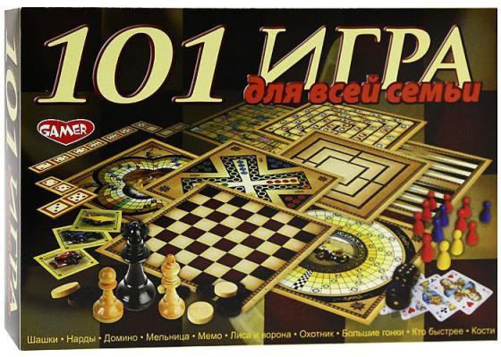 Настольная игра набор игр Dream makers 101 игра для всей семьи 1601H dream makers игровой набор суперагент телезонд